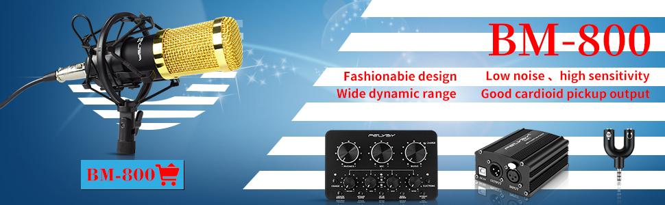 FEILYBY Condenser Microphone