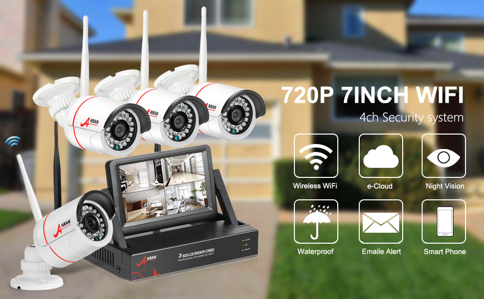 Amazon.com : Security Camera System Wireless, Wireless ...