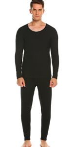 mens fleece lined thermals