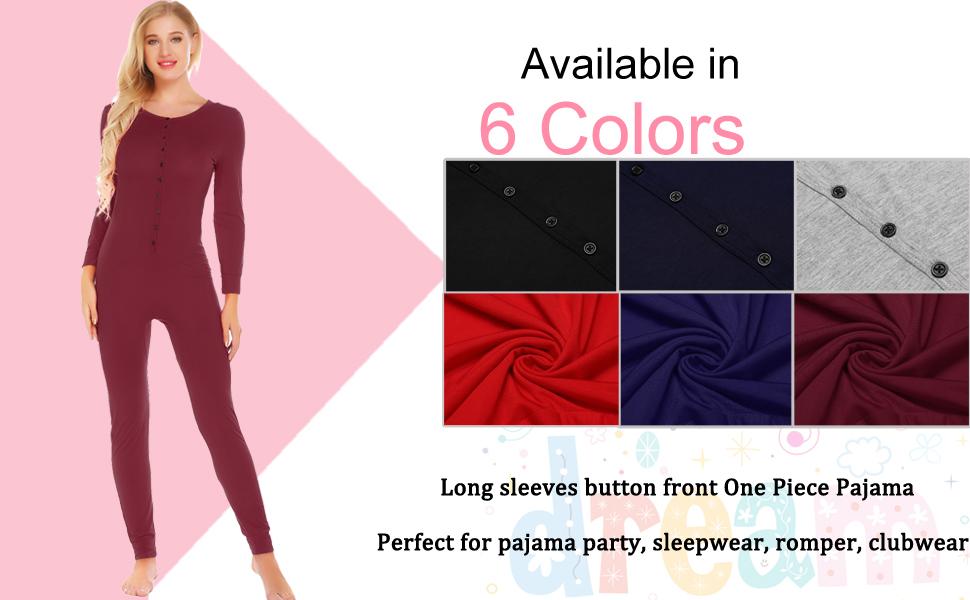 357cf4991afc Ekouaer Bandage One Piece Pajama Romper Underwear Set Long Sleeve ...