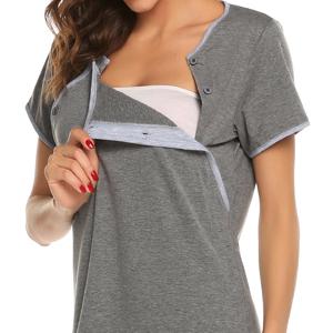 Ekouaer Nursing Nightgown