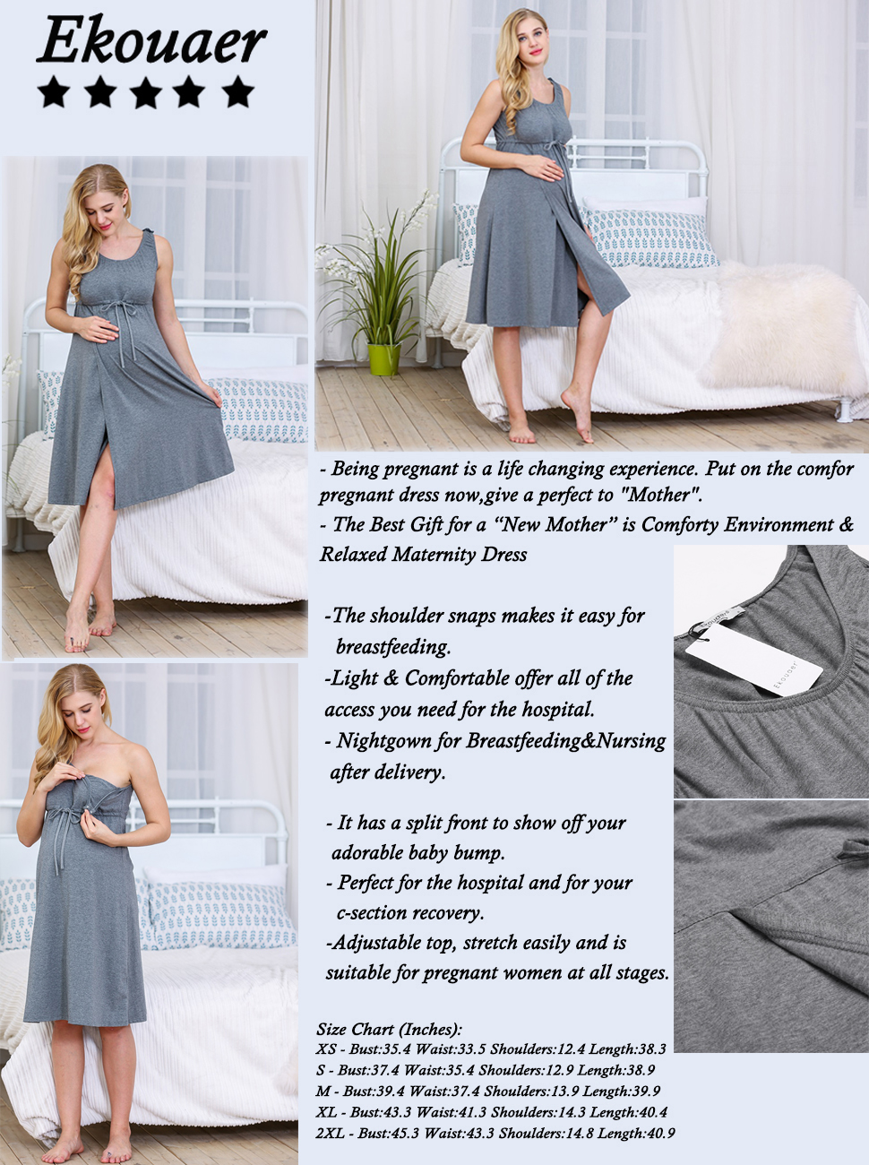 Enchanting C Section Hospital Gown Collection - Wedding and flowers ...