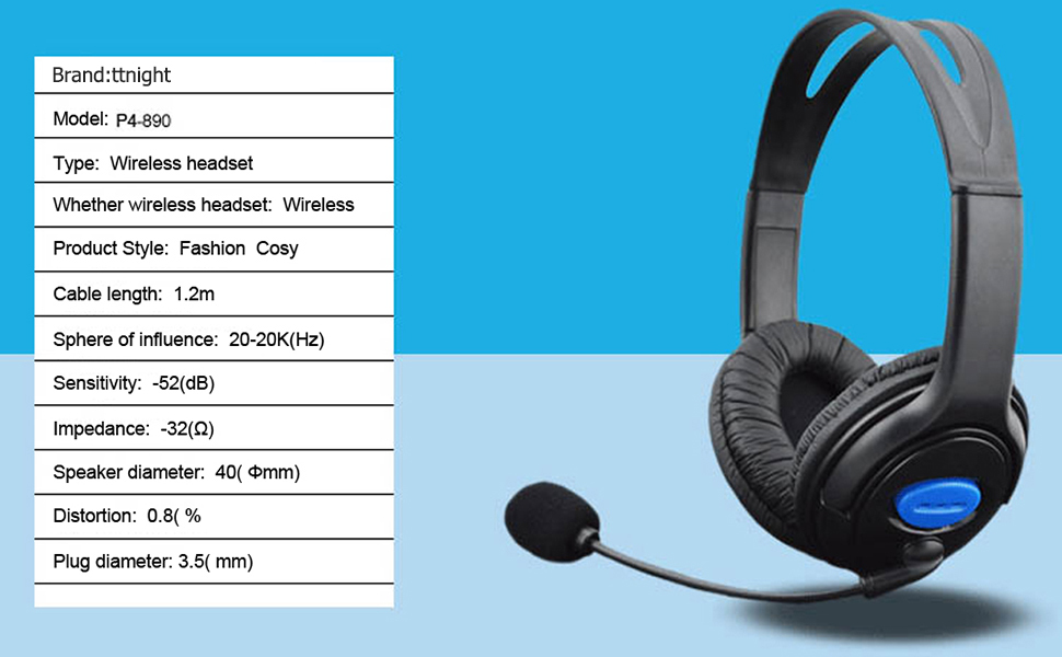 Wired Unilateral Headphone