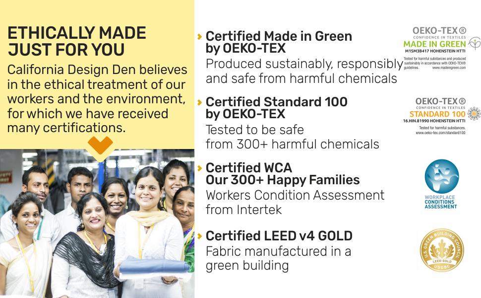 gots certified organic sheets