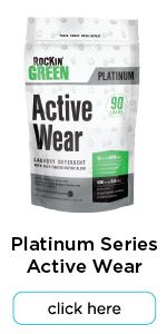 rockin green active wear detergent