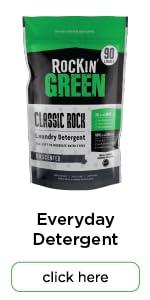 rockin green classic rock natural laundry detergent powder