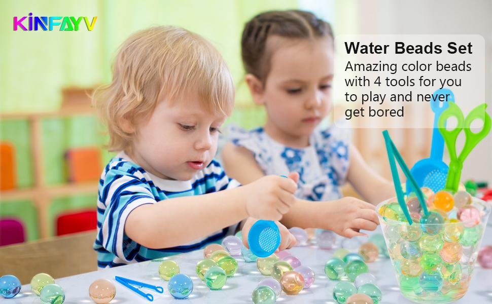 water beads non toxic water beads water beads set water beads kit motor skill toys gel beads