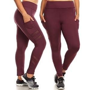 Plus Size Womens, Plus Size Leggings, Leggings Plus, Sports Plus size, Plus Size Yoga, Plus Sports