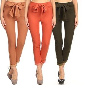 766bb1b0cd1080 skinny waist tie pants,skinny ankle pants,black cropped pants,waist tie  pants