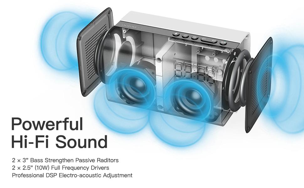 Power bluetooth Speaker
