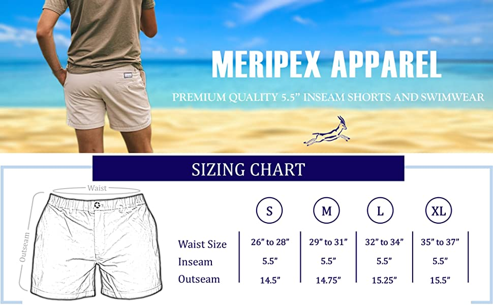 22df50d048 Meripex Apparel Men's 5.5