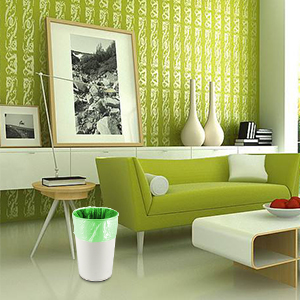 green indoor garbage bags can liners kitchen recycling recycle bathroom bedroom outdoor office