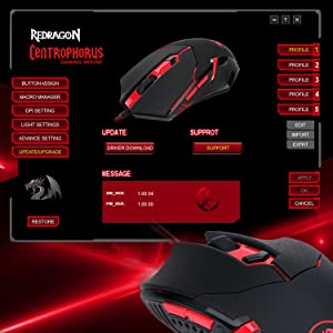 Amazon Com Redragon M601 Gaming Mouse Ergonomic Wired