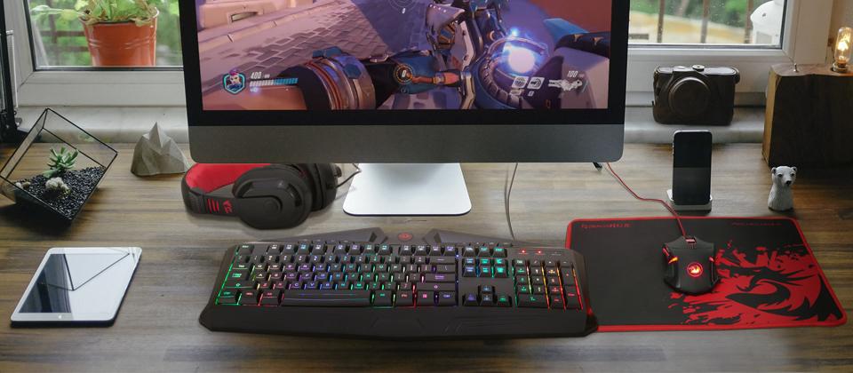 Redragon S101 Keyboard Material