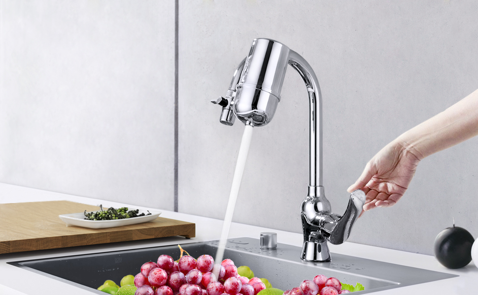 mancel home kitchen faucet water filter system - Kitchen Sink Filter