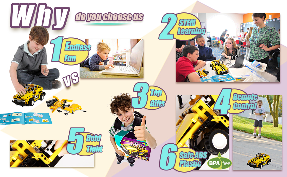 Offer Your Children The Chance To Learn While Playing! Bring Kids Happiness!