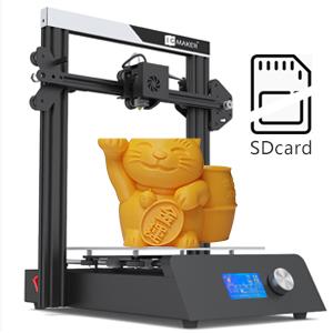 JGMAKER Magic 3D Printer DIY Kit with Filament Run Out Detection Sensor and Resume Print Metal Base 3D Printers for Hobbist Education 220x220x250mm ...