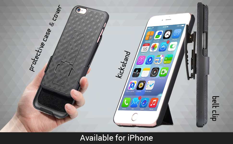 iPhone kickstand case