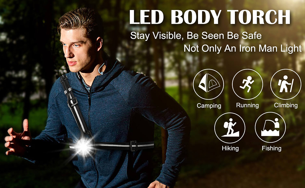 safety light for runners joggers
