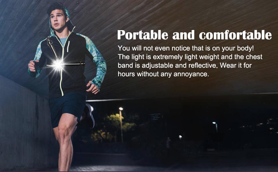 running light reflective gear