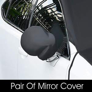 Sun Protector Double Side Design Exterior Waterproof Fits Most Cars Ice SUAOKI Windshield Snow Cover Car Windshield Guard Frost Snow Trunk SUV Van 80x 59