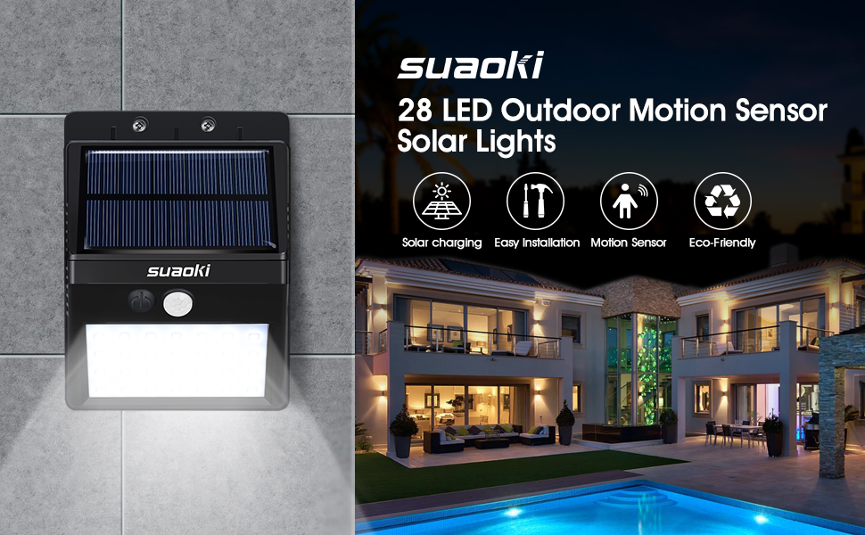 Solar Powered Outdoor Lights Capture The Energy Of The Sun With The  Efficient Solar Panel To Illuminate Your Night. Devote Yourself To An  Environmentally ...