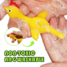 Baby Aryellys Chicken Mania Chicken Slingshot Stretch And Relax Making Things Convenient For Customers Toys For Baby