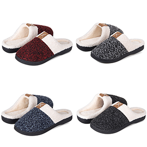 warm house slippers for women