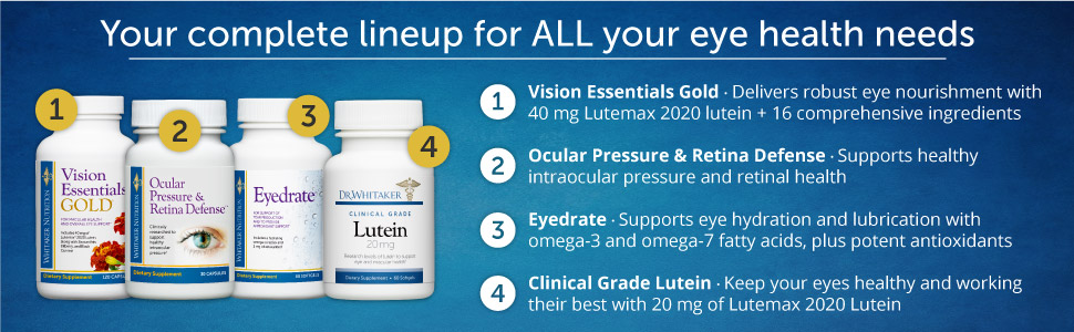 Your complete lineup for ALL your eye health needs