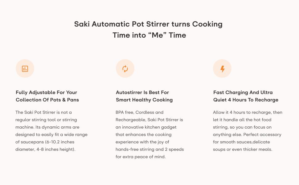 Amazon.com: SAKI - Mezclador automático para olla de cocina ...