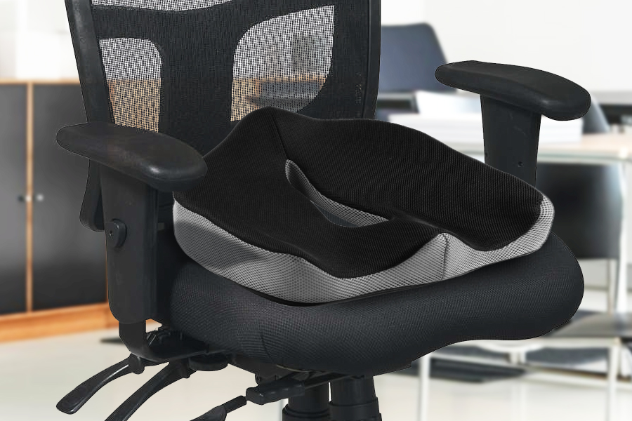 Merveilleux This Memory Foam Seat Cushion From Perfect Posture Will Add Comfort To Your  Everyday Seating: From Your Home, To Your Car Seat, Office Chair And More.
