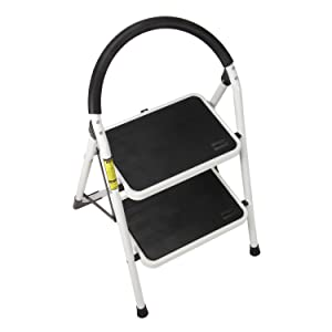 Amazon Com Ollieroo Step Stool Steel Support Ladder With