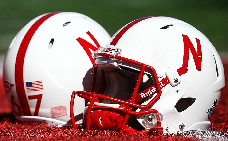 Nebraska Cornhuskers Football Helmets