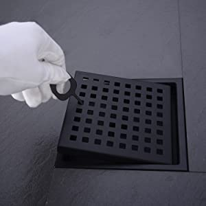 removable drain grate