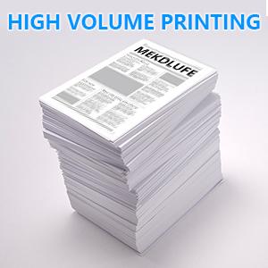 High Volume Print