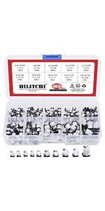 Hilitchi 24-Values 2N2222-S9018 / BC327-BC558 NPN PNP Power General