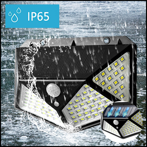 IP 65 Waterproof Inclined Design Solar Lights