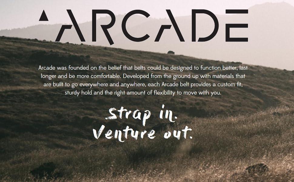 Arcade story with black logo