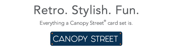 Canopy Street, Greeting Cards, Any occasion cards