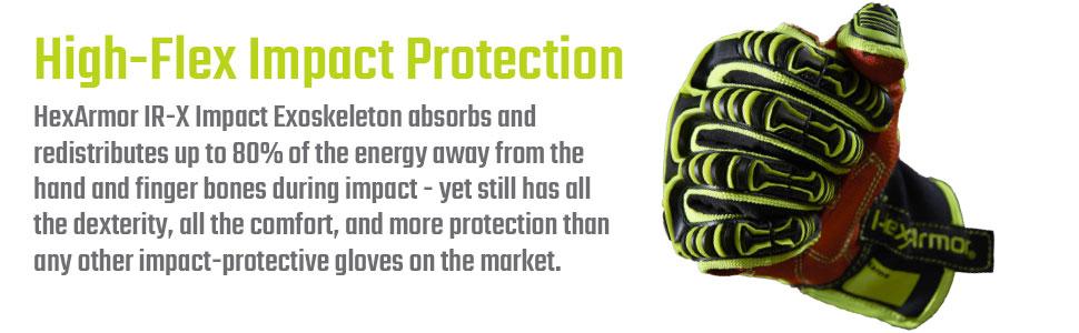 hexarmor rig lizard ir-x exoskeleton impact protection explained