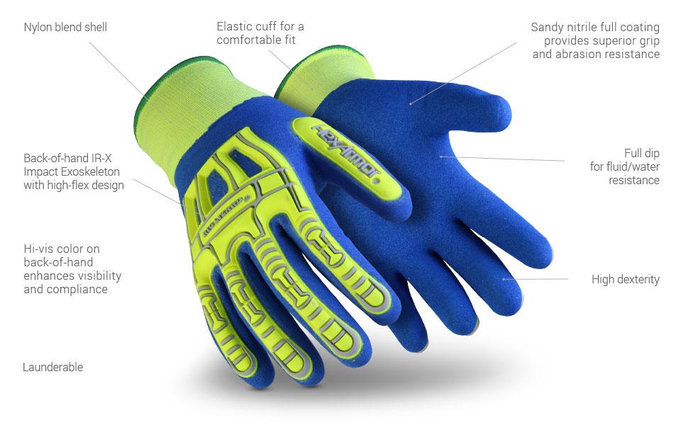 rig lizard 7101 glove features