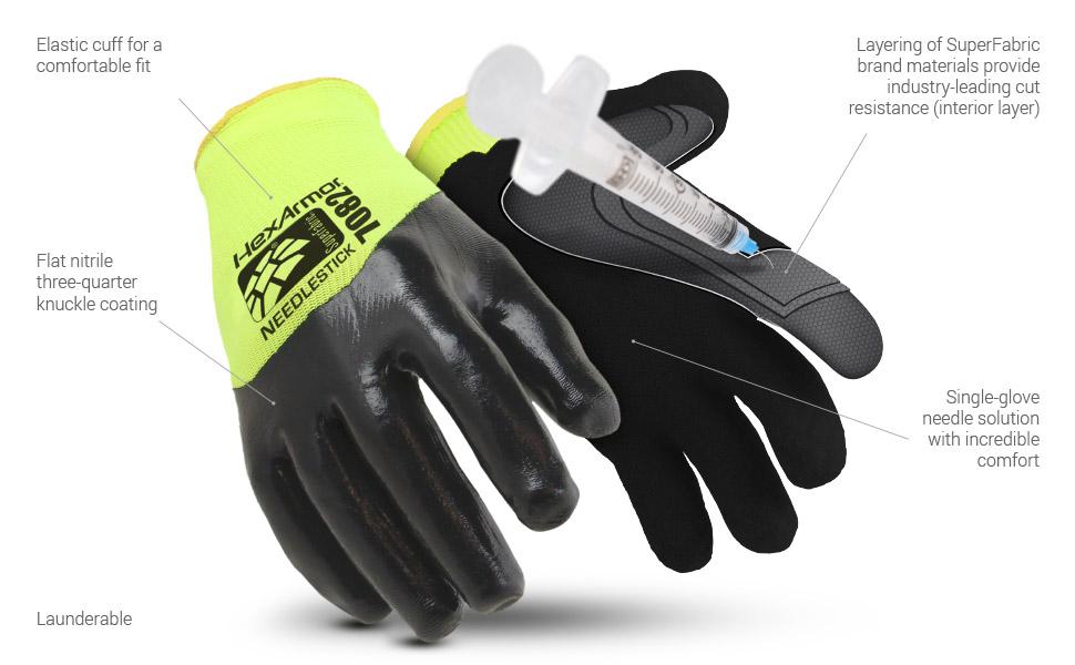 sharpsmaster 7082 glove features