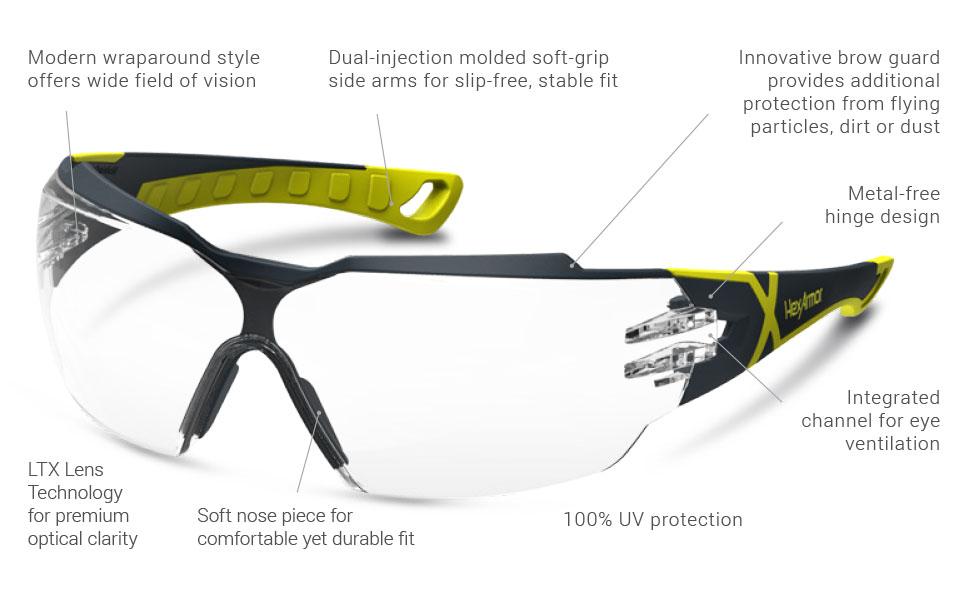 66f443c51d87e HexAmor MX300 z87 Anti Fog Safety Glasses