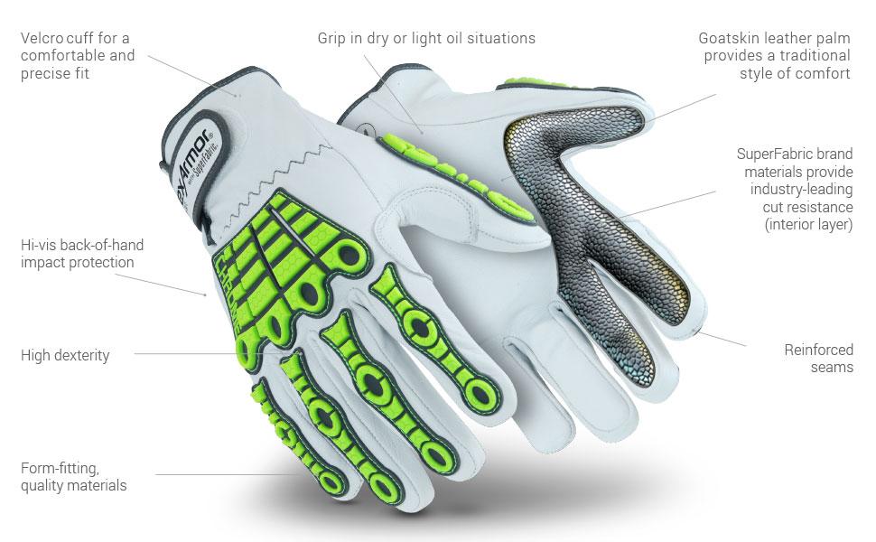chrome series 4080 glove features