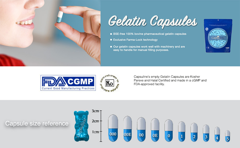 size chart capsules