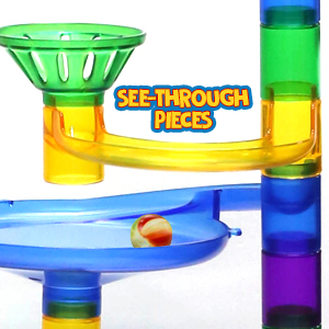 Marble Run See Through Pieces
