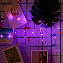 photo decoration lighting string