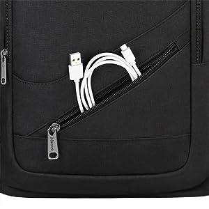 Small pocket durable zipper
