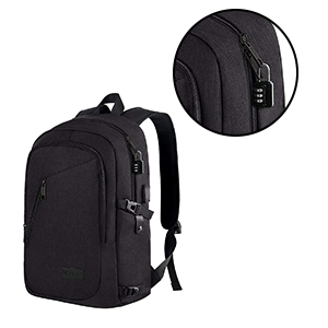 e6487e908851 Amazon.com  Anti Theft Business Laptop Backpack with USB Charging ...