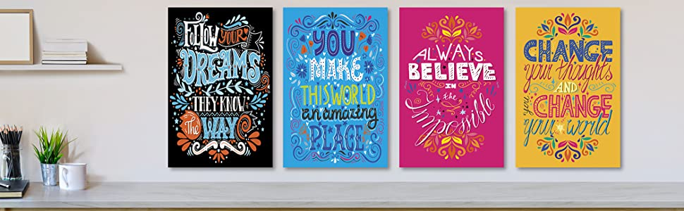 office space design decorative wall prints